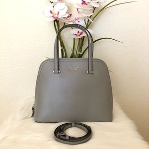 🌸 KATE SPADE Medium Dome Patterson Drive Satchel